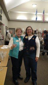 Glenda and Cheryl served refreshments.