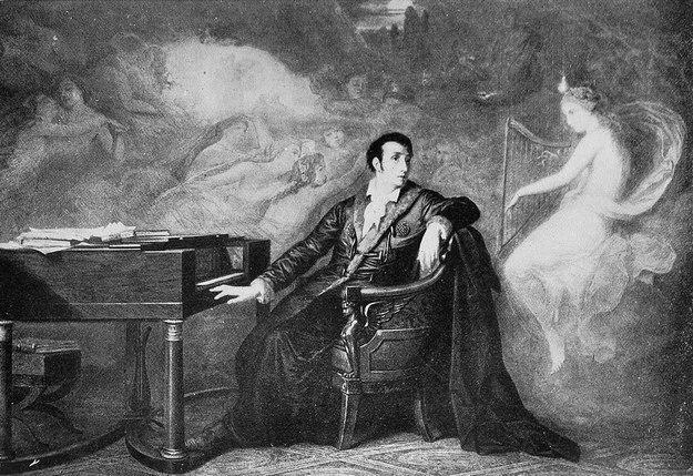 La dernière pensée de Weber, after Édouard Hamman (1880).