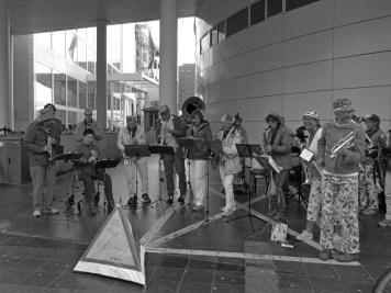 Street Orchestra Eigen Hulp Klimaatstaking Den Haag 27/9/2019 © Lodewijk Muns