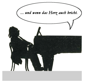 © Lodewijk Muns 2020, after Otto Böhler's silhouette of Johan Messchaert and Julius Röntgen performing Schumann's Ich grolle nicht.