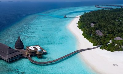 "Fly ""far away from the madding crowds…"", to Naladhu, your private island escape in the Maldives"