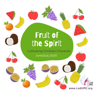 June 7, 2020_Fruit of the Spirit: LOVE