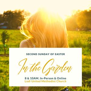 Easter 1. In the Garden