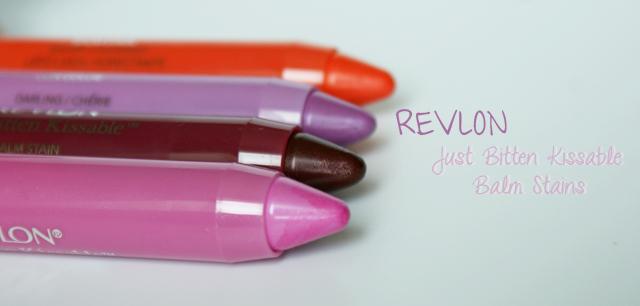 Les nouveaux Revlon Just Bitten Kissable Balm Stains ! (swatches inside)