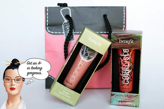 Les nouveaux Box'o Powder Gloss by Benefit (swatches inside)