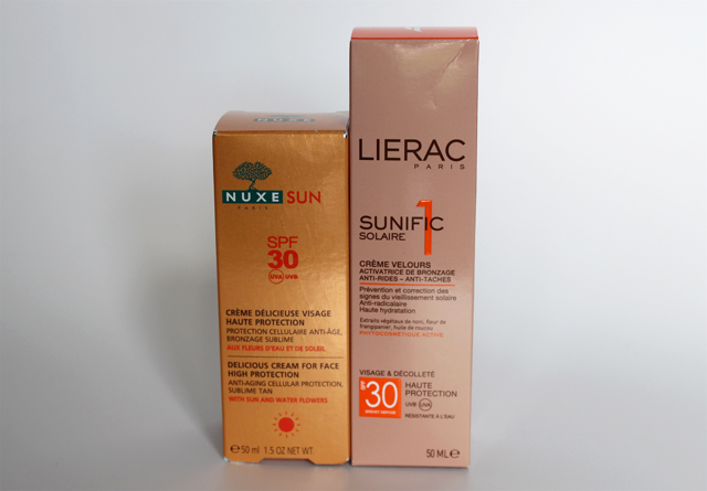 Crèmes solaires pour le visage : Nuxe/Lierac, laquelle choisir?
