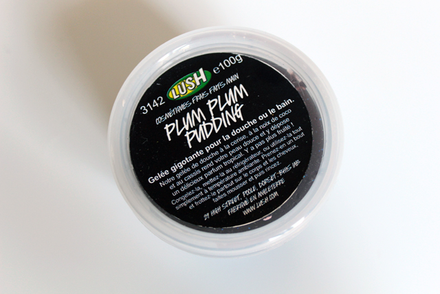 Plum Plum Pudding de Lush débarque sous ma douche !