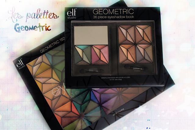 """Les nouvelles palettes """"Geometric"""" par ELF !"""