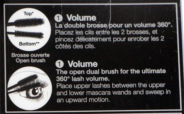 upside down mascara 111