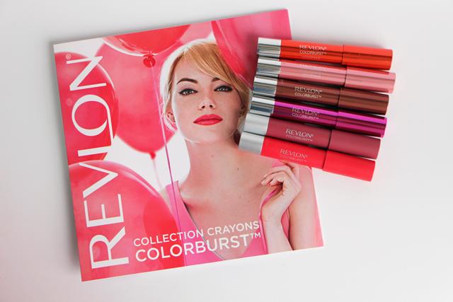 Les nouveaux crayons Colorburst de Revlon : Les Lacquer et les Matte Balms!