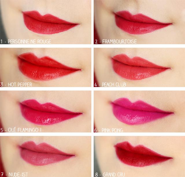 rouge édition velvet bourjois lips