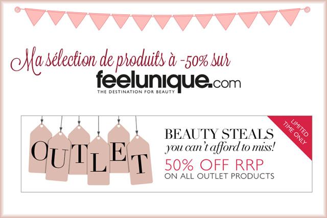 Bon plan: des produits à -50% sur Feelunique !