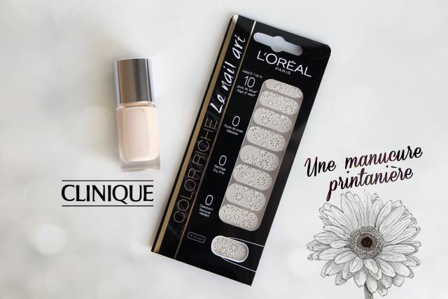 Une manucure printanière avec Clinique et L'Oréal !