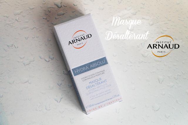 Hydra Absolu, le masque désaltérant de la marque Institut Arnaud !