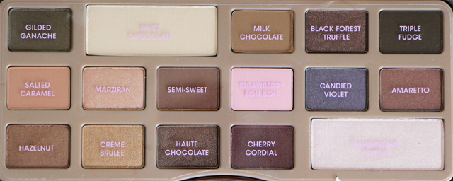 chocolate fards