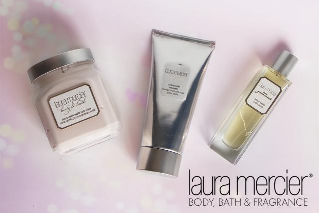 La gamme Ambre Vanillé de Laura Mercier, mon amour