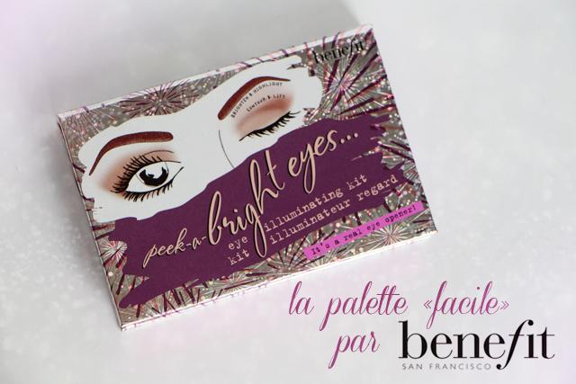 benefit peek a bright eye palette