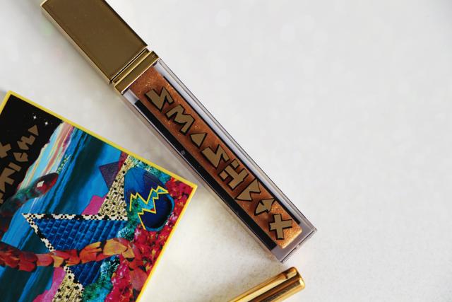 smashbox gloss santi gold collection
