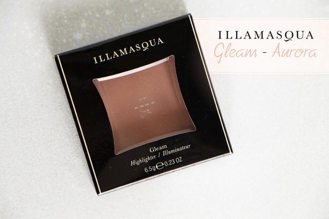 illamasqua aurora gleam highlighter