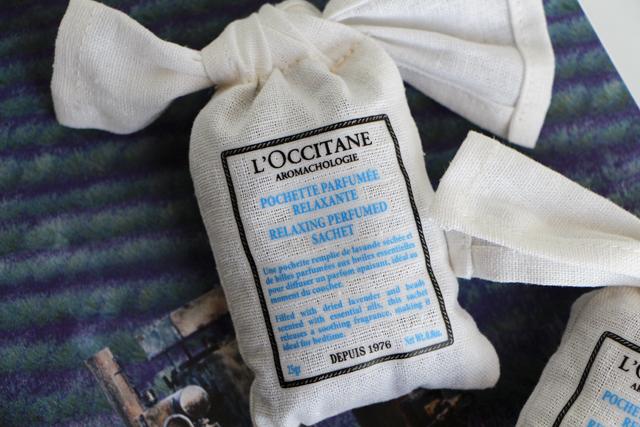 loccitane aromachologie sachet