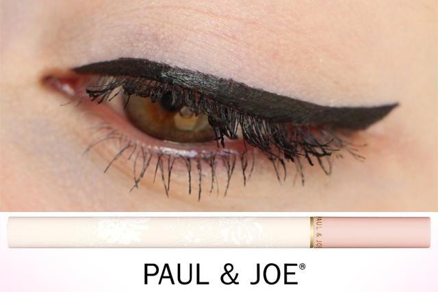 Un trait d'eyeliner parfait avec Paul & Joe