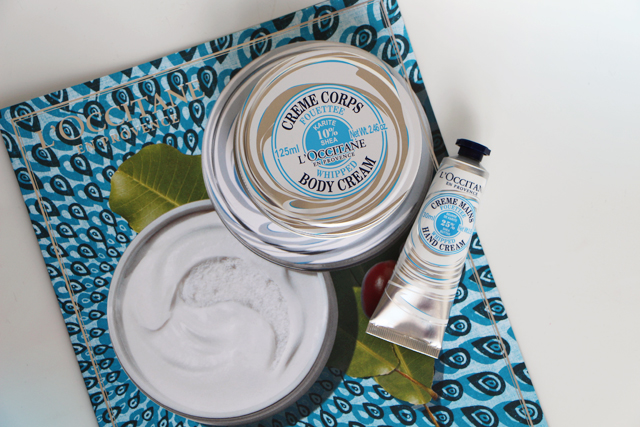 loccitane gamme fouettee whipped