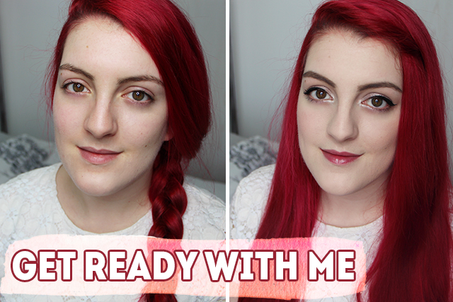 Get ready with me (routine teint, maquillage du moment)