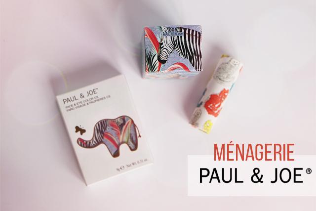 Ménagerie, la collection de maquillage de printemps 2015 Paul&Joe