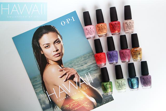 """La collection """"Hawaii"""" by OPI pour le printemps/été"""