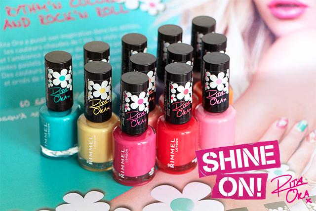 La collection Rita Ora Colourfest by Rimmel!