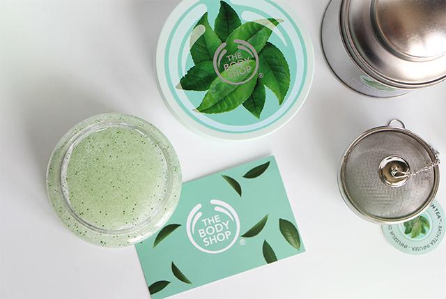 La nouvelle gamme Fuji Green Tea de The Body Shop