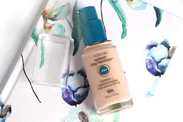 Outlast Stay Fabulous Foundation by Covergirl : la déception!