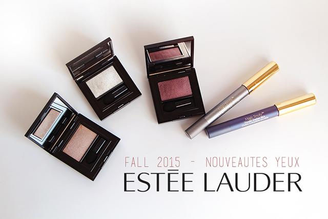 Les nouveautés automnales pour les yeux by Estée Lauder !