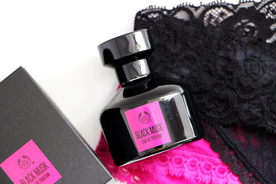 eau de parfum body shop black musk