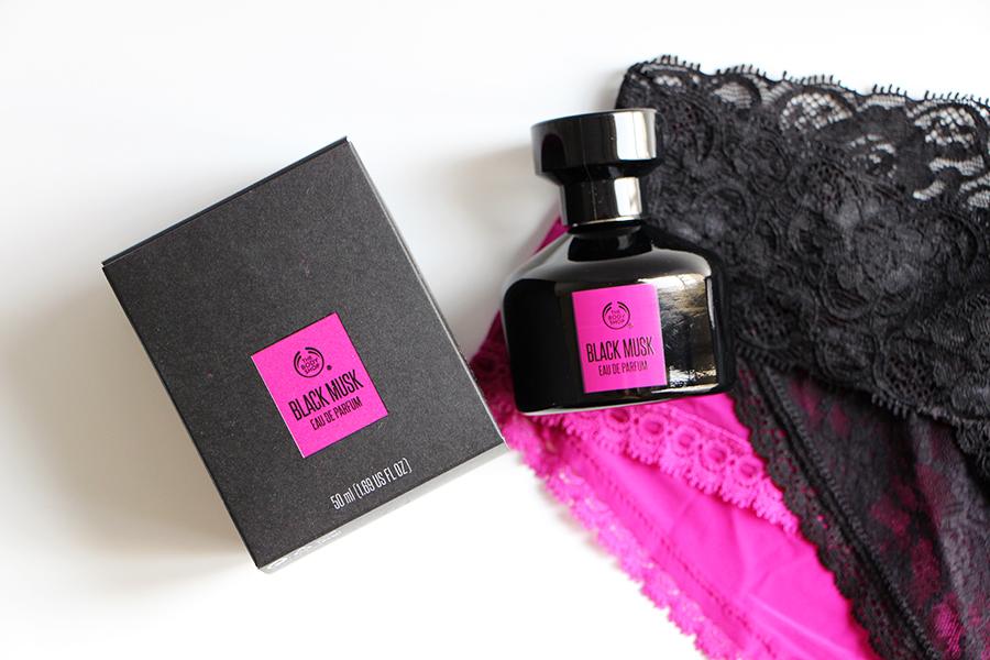 the body shop perfume black musk new