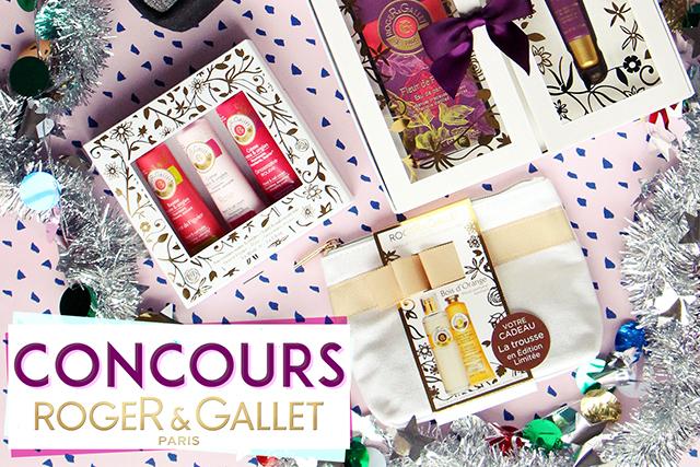Concours de Noël avec Roger & Gallet !