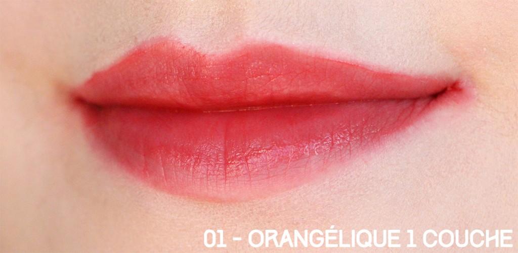 orangelique 1 couche bourjois