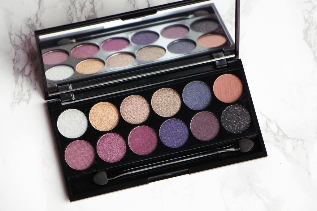 sleek palette vintage romance eyeshadows