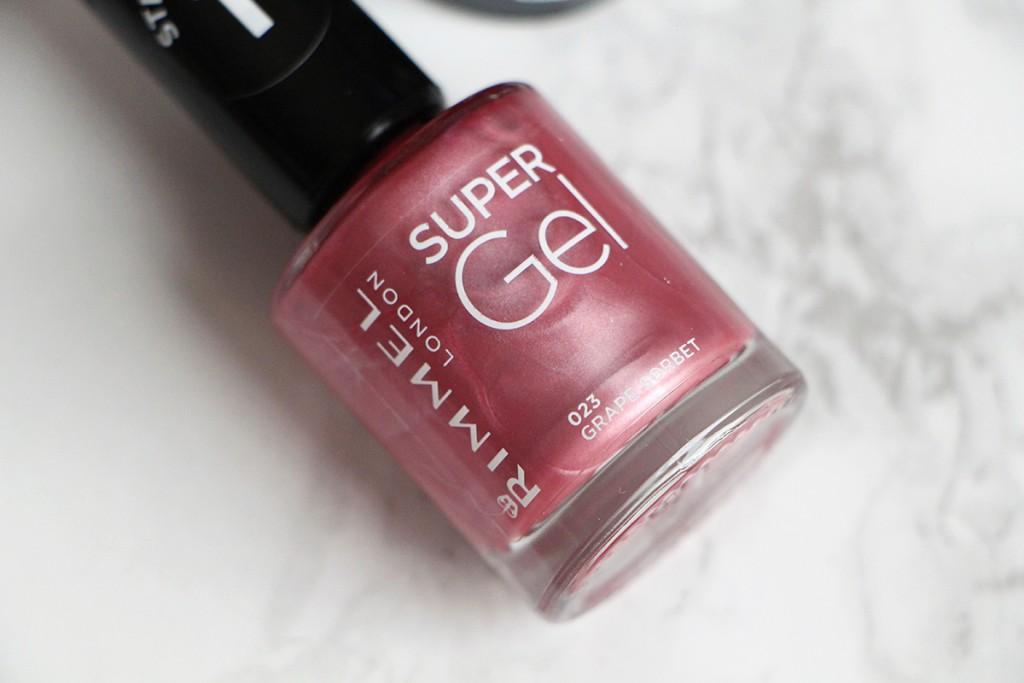 super gel pink rimmel