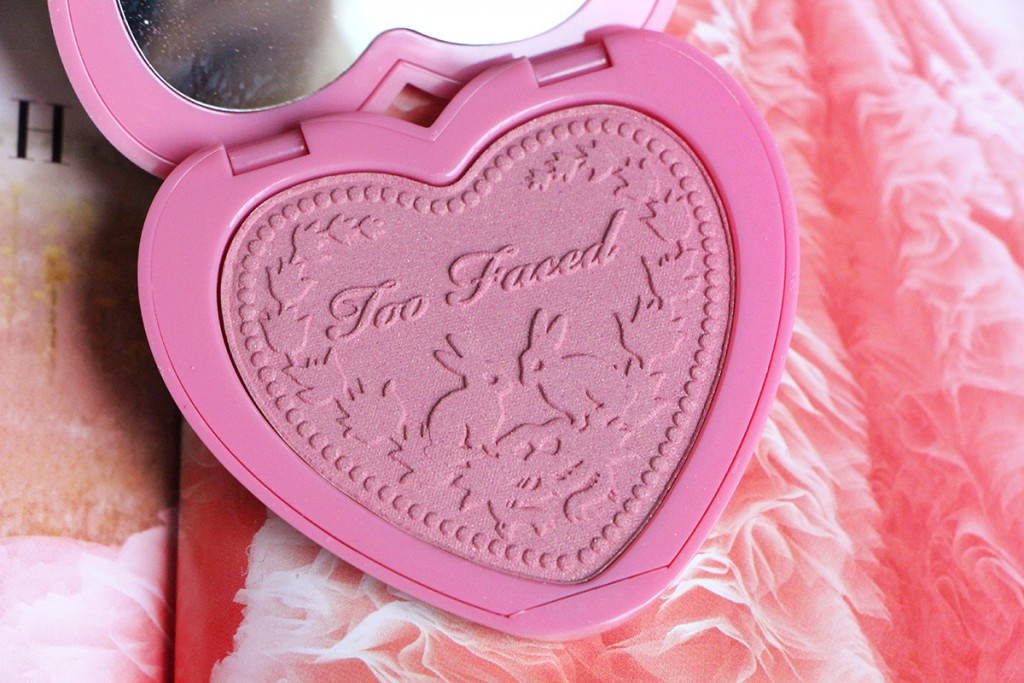 too faced justify my love blush