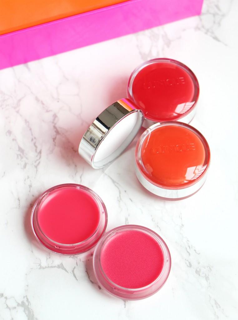 clinique sweet pots scrub lip balms