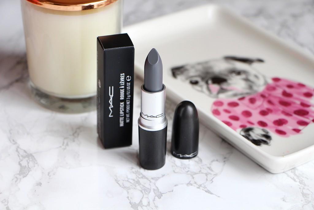 halsey matte lipstick grey lips mac
