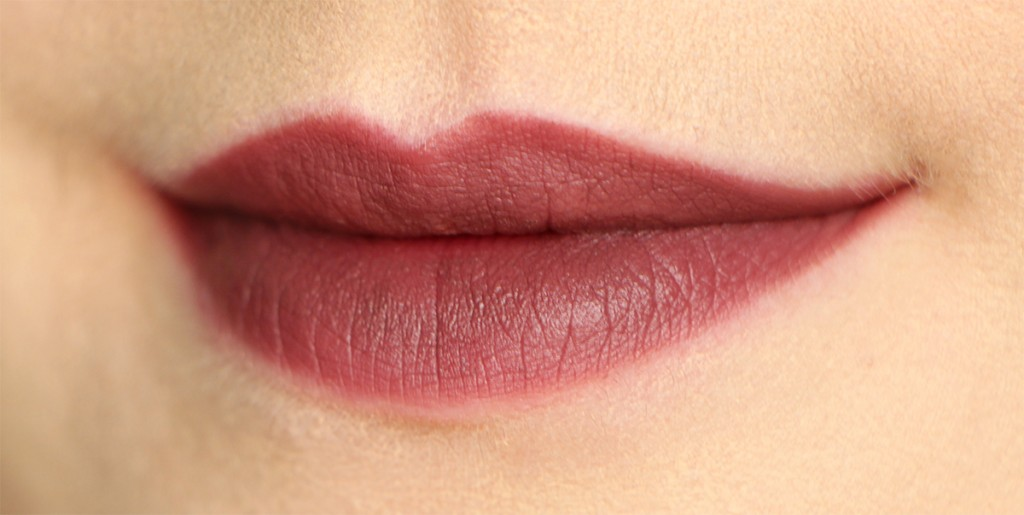 kiko 319 velvet passion matte lipsticklips swatch