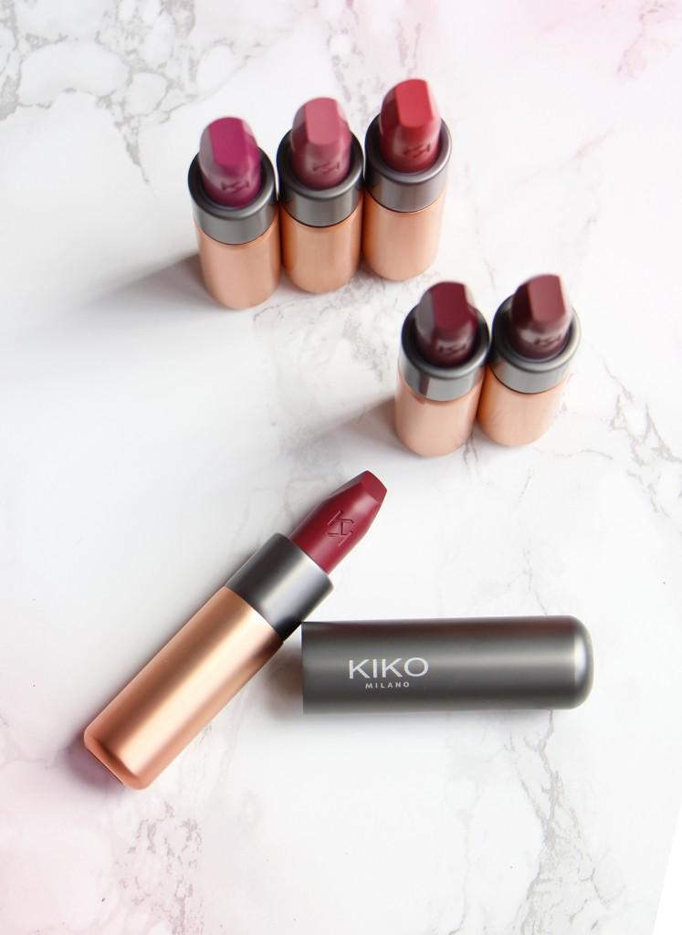 kiko velvet passion matte rouges a levres lipstick suite