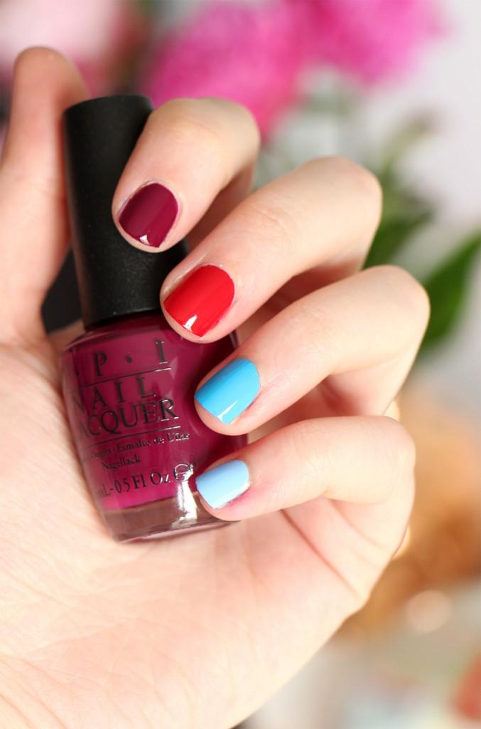 OPI Nails Alice movie