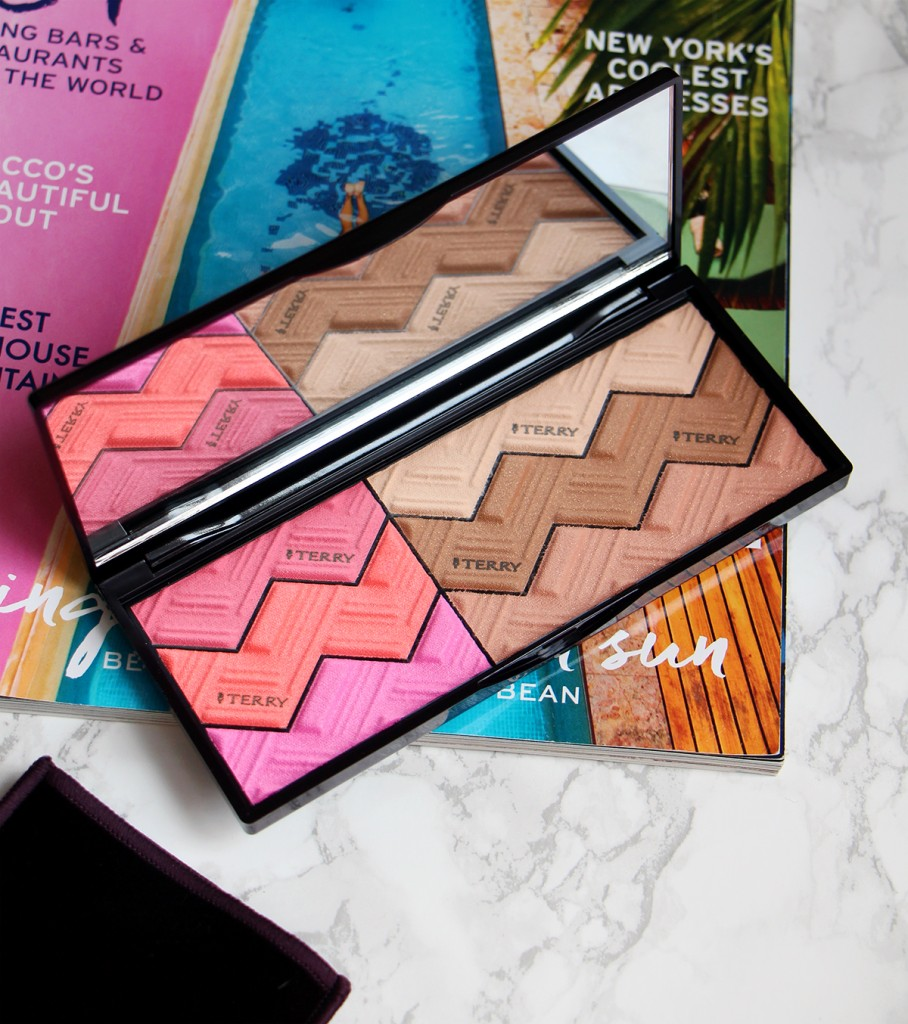 by terry palette open sun designer revue review blog beaute beauty blog