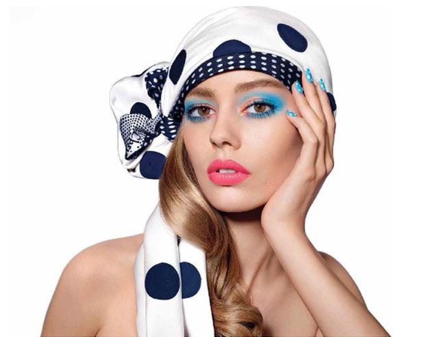 dior milky dots makeup