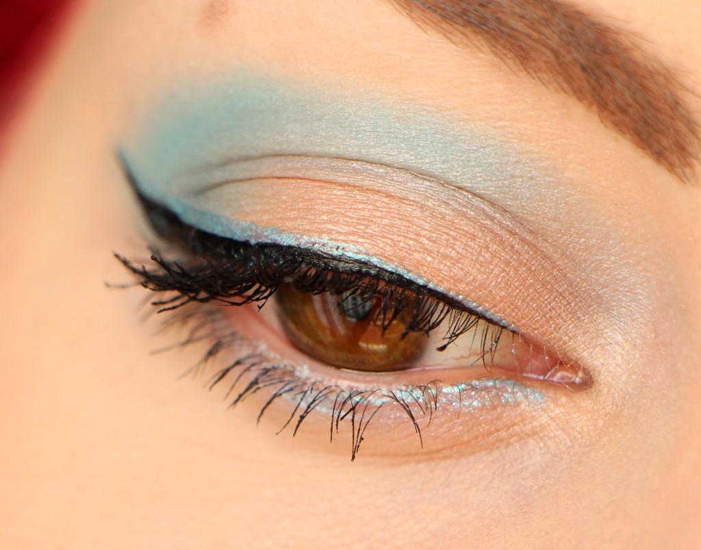 dior summer eye milky dots