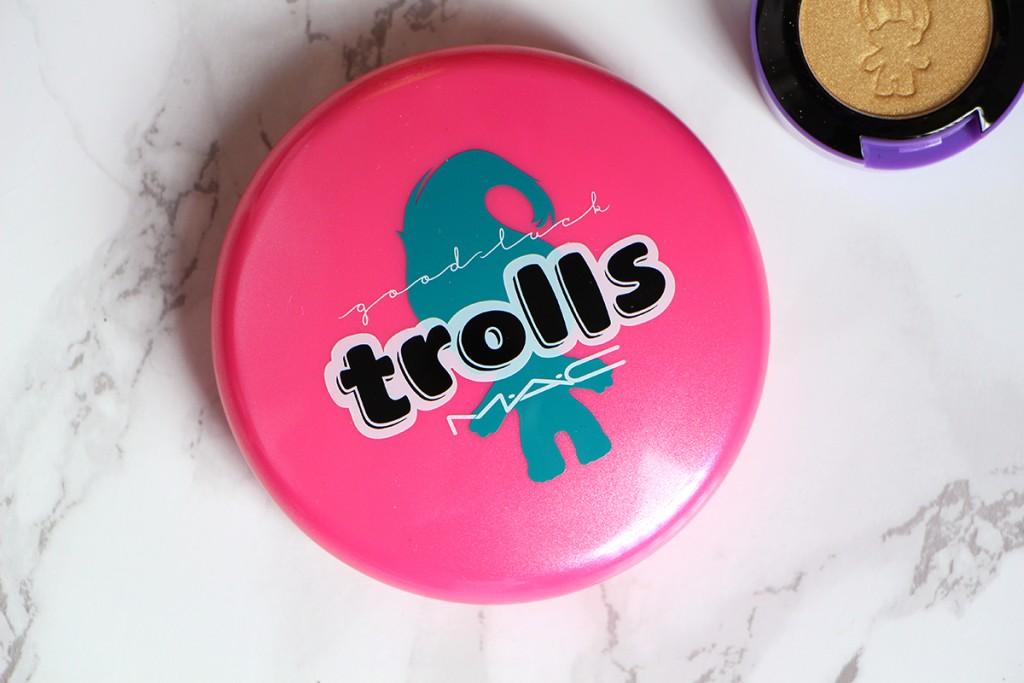 good luck trolls mac cosmetics powder glow rida