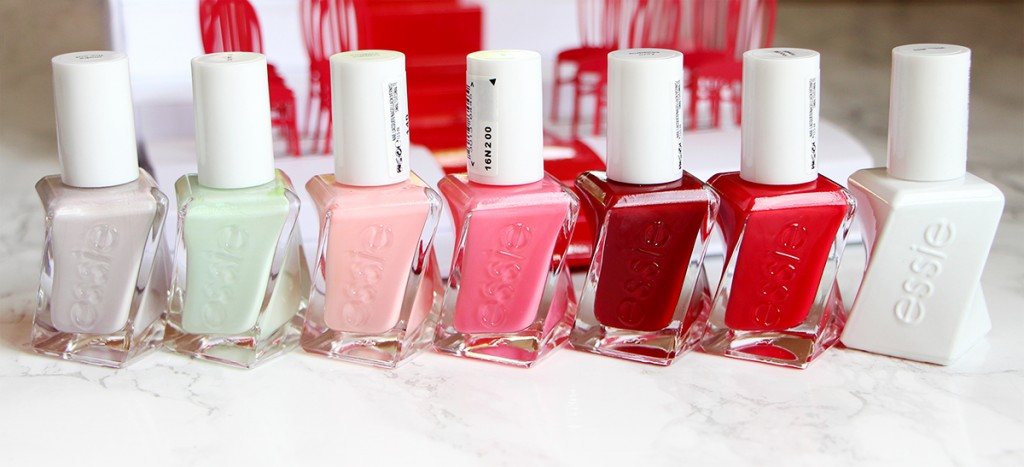 essie gel couture collection revue review blog beaute